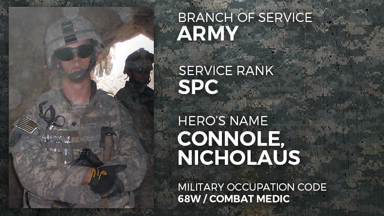 Army Specialist Nicholaus Connole