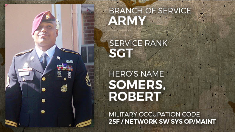 Army Sergeant Robert Somers