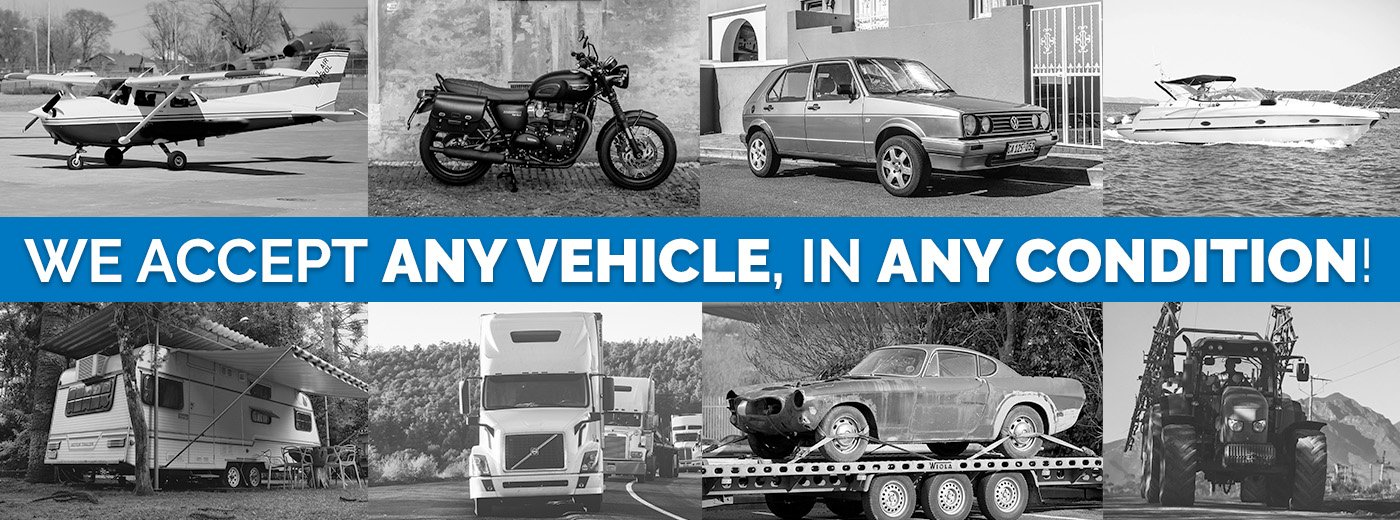 We accept any vehicle in any condition - donate your vehicle now