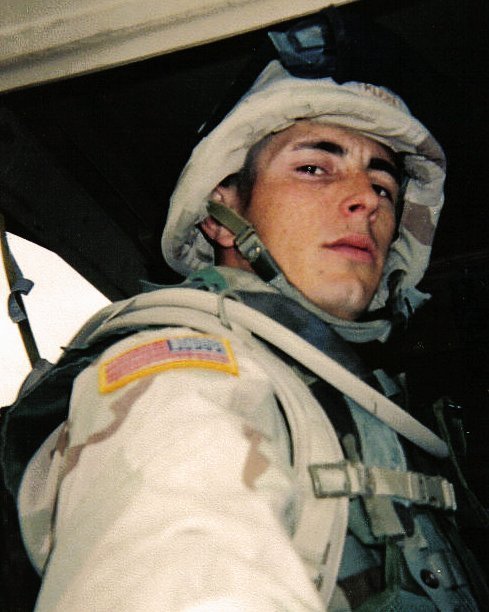 John Klein in Uniform in Iraq