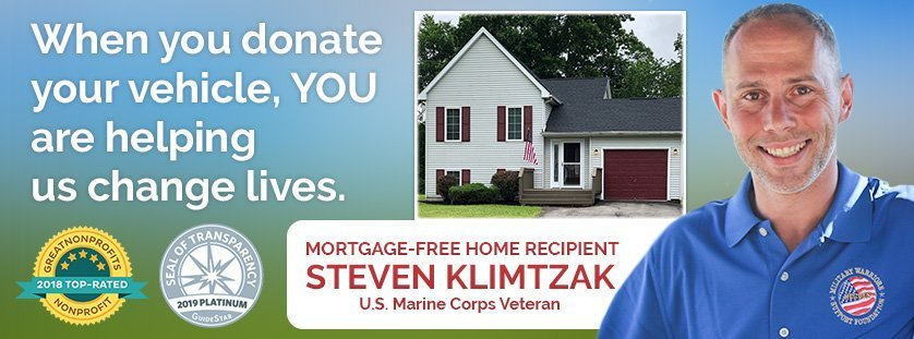 Donating Your Vehicle, Car or Truck will help us serve combat wounded veterans and Gold Star families